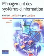 Management des systèmes d'information (9e édition) - Intérieur - Format classique