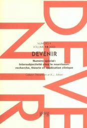 Devenir Vol 15 N 4 2003 - Intérieur - Format classique