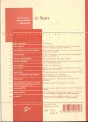 Revue Medievales T.36 ; Le Fleuve - 4ème de couverture - Format classique