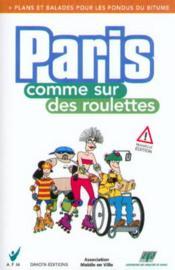 Paris comme sur des roulettes - Couverture - Format classique