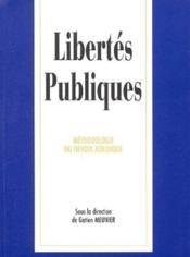 Libertes publiques actualisees - Couverture - Format classique