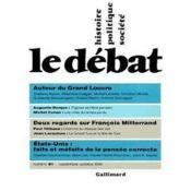 Revue Le Débat N.81 ; septembre-octobre 1994 - Couverture - Format classique