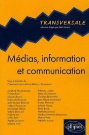 Médias, information et communication - Couverture - Format classique