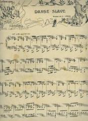 Piano Soleil - N°14 Du 7 Avril 1901 : Danse Slave + Gavotte Princesse + Rayon D'Or + Hawthorn. - Couverture - Format classique