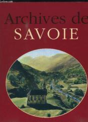Archives De Savoie - Couverture - Format classique