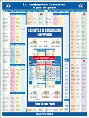 La conjugaison francaise a pas de geant - Couverture - Format classique
