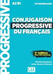 Conjugaison progressive du francais niveau intermediaire + cd nouvelle couverture - Couverture - Format classique