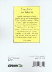 Une Etoile Sur Tatamis - 4ème de couverture - Format classique