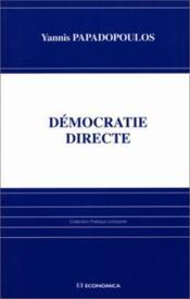 Democratie directe - Couverture - Format classique