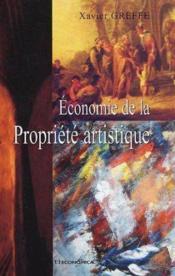 L'Economie De La Propriete Artistique - Couverture - Format classique