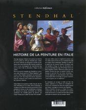 Histoire De La Peinture En Italie - 4ème de couverture - Format classique