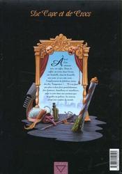 De cape et de crocs T.1 ; le secret du Janissaire - 4ème de couverture - Format classique