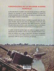 Seconde Guerre Mondiale Au Fil Des Mois (La) - 4ème de couverture - Format classique