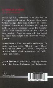 Tronc De La Veuve (Le) - 4ème de couverture - Format classique