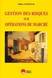 Gestion Des Risques Sur Operations De Marche - Intérieur - Format classique