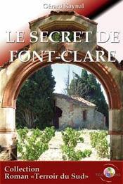 Le secret de Font-Clare - Intérieur - Format classique