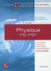 Physique ; PSI, PSI*, 2ème année - Couverture - Format classique