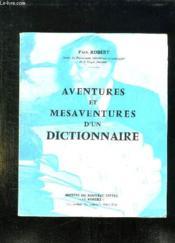 Aventures Et Mesaventures D Un Dictionnaire. - Couverture - Format classique