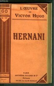 Hernani - Couverture - Format classique
