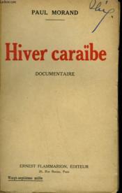 Hiver Caraïbe. - Couverture - Format classique