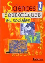 Sciences économiques et sociales 2nd - Intérieur - Format classique