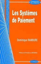 Les Systemes De Paiement - Couverture - Format classique
