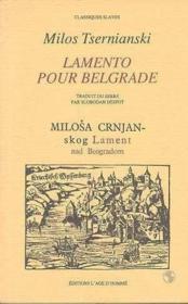 Lamento Pour Belgrade - Couverture - Format classique