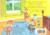 Cinq petits ouistitis - 4ème de couverture - Format classique