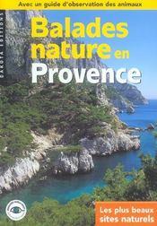 Balades Nature ; En Provence - Intérieur - Format classique