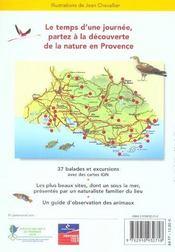 Balades Nature ; En Provence - 4ème de couverture - Format classique