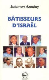 Batisseurs D'Israel - Couverture - Format classique