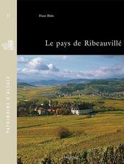 Le pays de ribeauvillé ; Haut-Rhin - Intérieur - Format classique