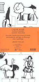 Arche de noe (l') - 4ème de couverture - Format classique
