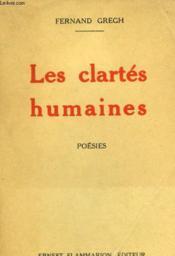 Les Clartes Humaines. - Couverture - Format classique