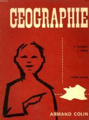 Geographie, Cours Moyen - Couverture - Format classique
