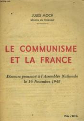 Le Communisme Et La France - Couverture - Format classique