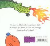 Monsieur Chatouille et le dragon - 4ème de couverture - Format classique