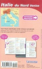 Voyager Pratique ; Italie Du Nord, Venise - 4ème de couverture - Format classique