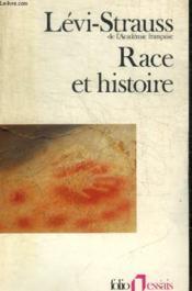 Race et histoire - Couverture - Format classique