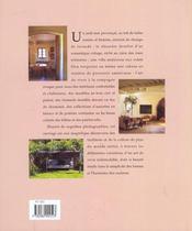 L'art de vivre à la campagne - 4ème de couverture - Format classique