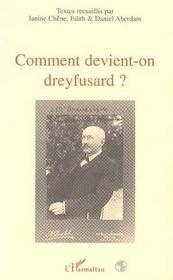 Comment Devient-On Dreyfusard ? - Intérieur - Format classique
