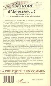 Comment Devient-On Dreyfusard ? - 4ème de couverture - Format classique