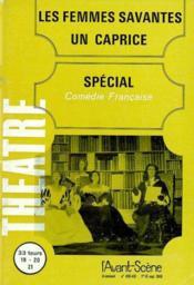 Revue L'Avant-Scene Theatre ; Les Femmes Savantes - Couverture - Format classique