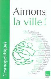 Aimons La Ville ! - Intérieur - Format classique