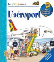 Les p'tits juniors/l'aeroport - Couverture - Format classique