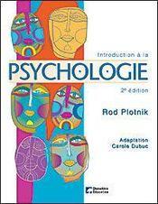 Introduction a la psychologie (2ed) - Intérieur - Format classique