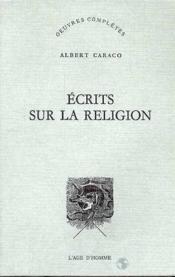 Ecrits Sur La Religion - Couverture - Format classique