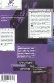Identification des schemas - 4ème de couverture - Format classique