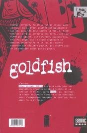 Goldfish - 4ème de couverture - Format classique