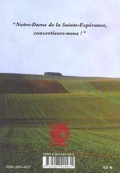 Le pere emmanuel. l'ardeur de la conversion - 4ème de couverture - Format classique